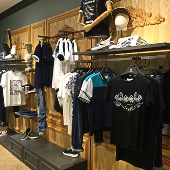 China supplier man clothing shop equipment design shop - Men s clothing store interior design ideas ...
