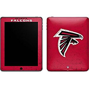 NFL Atlanta Falcons iPad Skin - Atlanta Falcons - Alternate Distressed Vinyl Decal Skin For Your iPad