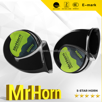 MrHorn brand Universal Supersonance Snail Car Horn 12v