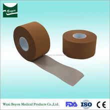 Rayon tan sports rigid strapping tape