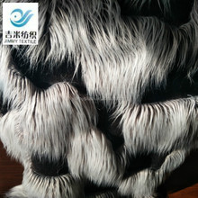 Wholesale fashion 100%A long pile plush fabric faux fur fake fur