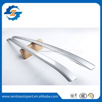 High Quality Silver color aluminium alloy luggage roof rack rail bar for R-ange R--over sport 2014