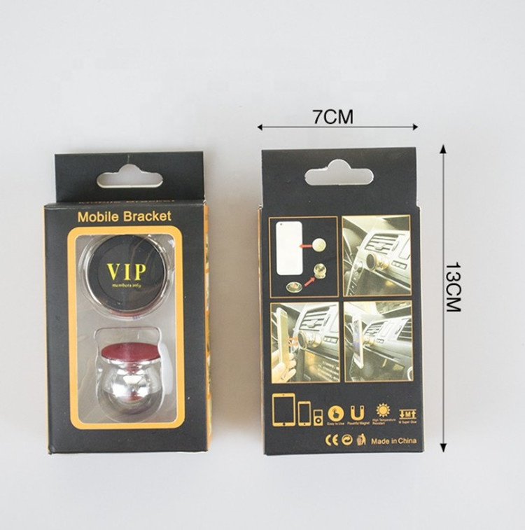 Ready to Ship Stainless Strong Magnetic Car Mobile Cell Phone Holder