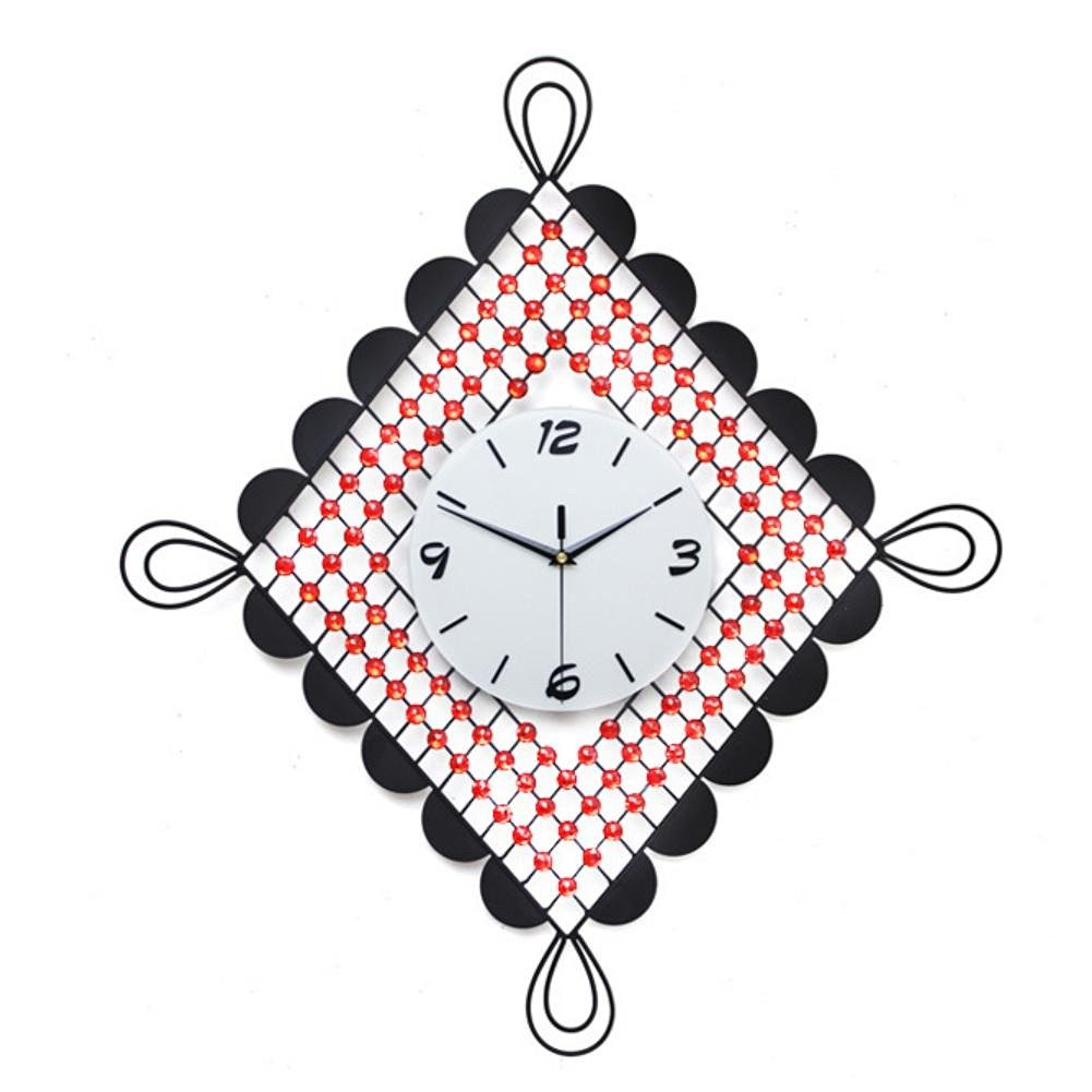 TONPAR Chinese knot fashion king size living room wall clock clock mute Chinese modern clock