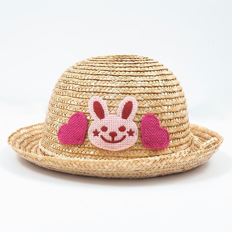 bc18db07b426e Plus populaire Bébé Chapeau Panama Chapeau De Paille pour Enfants D'été ...
