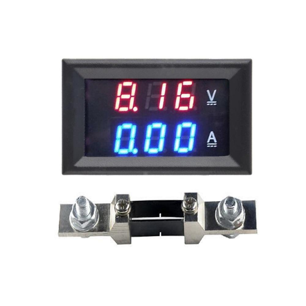 Digital Voltmeter Ammeter Panel Micro Volt Amp Meter 0