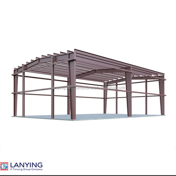 Light Steel 1000 Square Meter Portable Warehouse Building ...