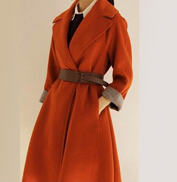 W70822G top fashion 2015 luxurious wool overall women winter coat model for women in china clothing