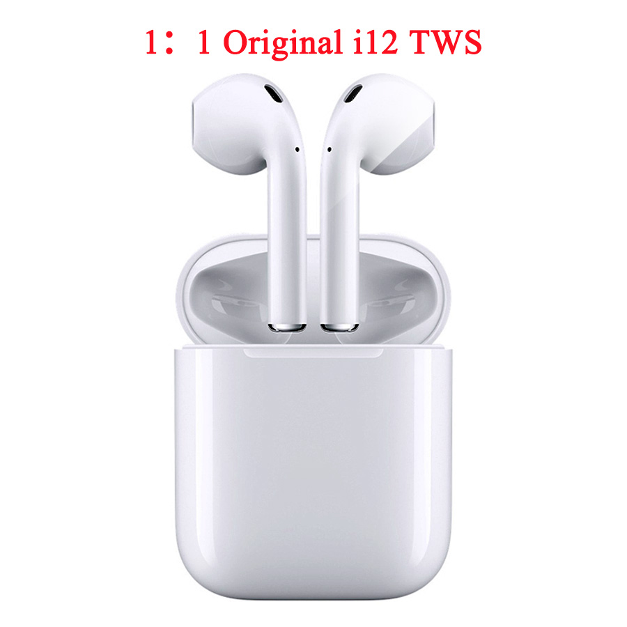 Waterproof I12 Tws Bluetooth Earphones Wireless Bt 5 0 Earphone Touch Control Stereo In Ear Earbuds For Iphone I10 I11 I9s Tws White Buy At The Price Of 9 00 In Alibaba Com Imall Com