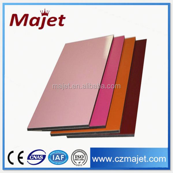 20 years gurantee aluminum composite panel color metal roofing tile brushed foil manufacturer