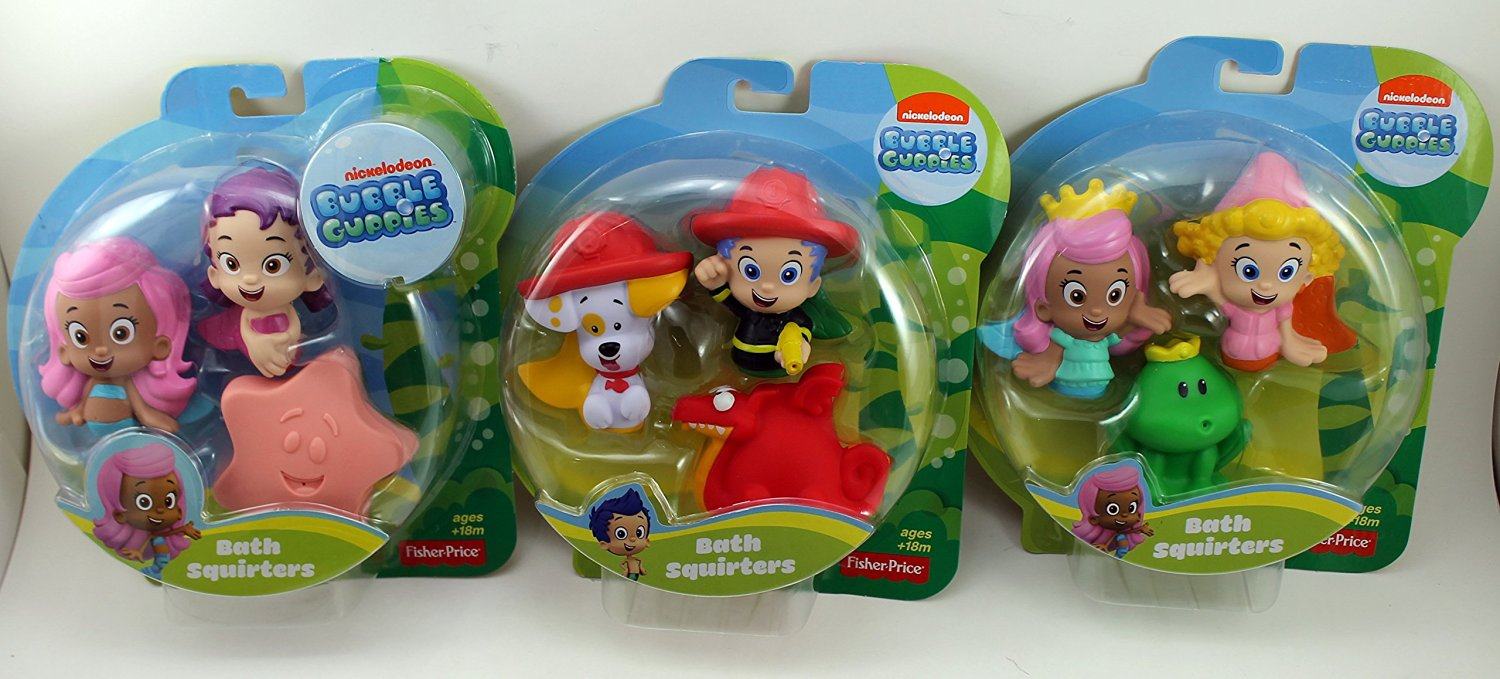 . Buy Fisher Price Bubble Guppies Molly  Oona and Starfish in Cheap