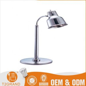 Kitchen Equipment Steel Food Warmer Lamp For Hotel