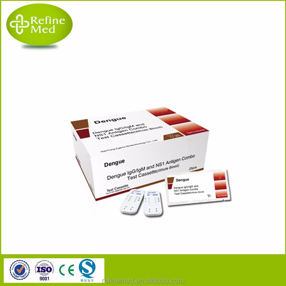 NS1/IgG/IgM Dengue Rapid Test kits