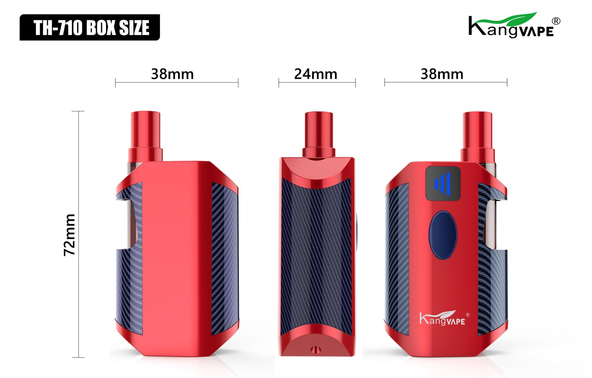 Kangvape variable voltage cbd oil battery 650mAh compatible with 510 cbd oil cartridge vape pen TH 710 BOX