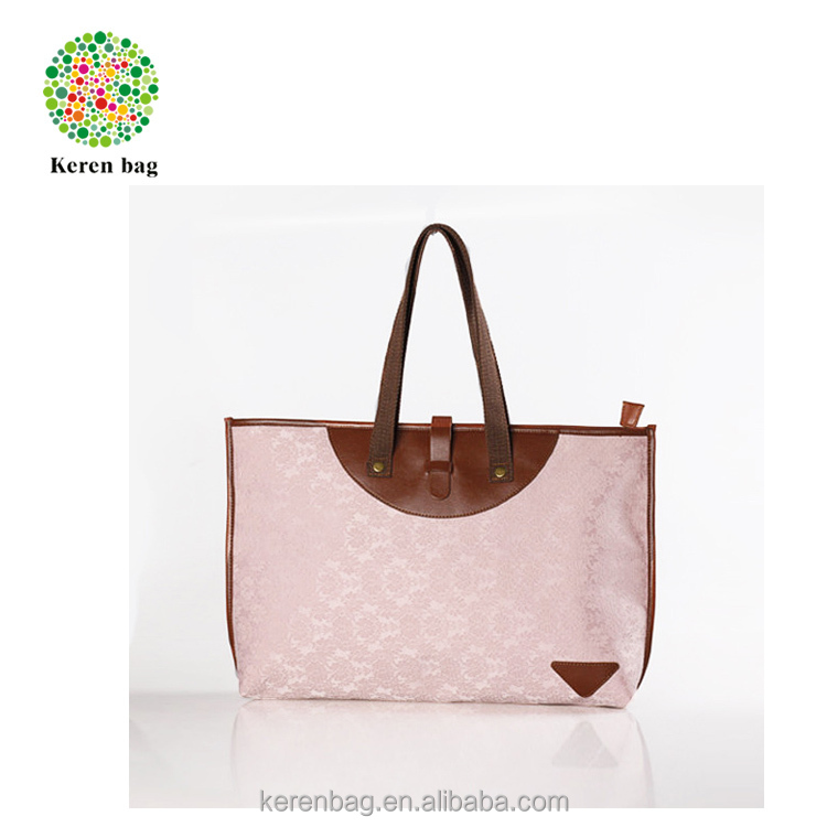 New Design Jacquard Knitting Fabric Lady Shoulder bag
