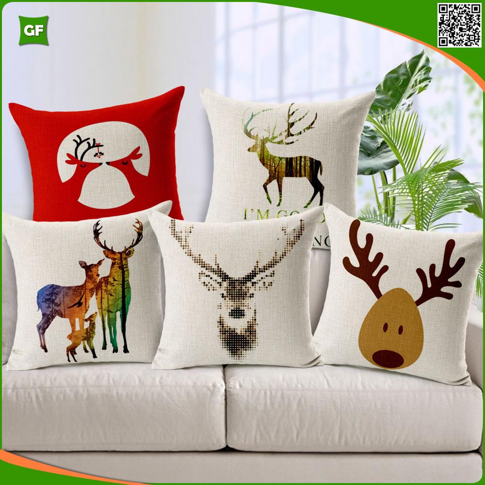 Linda navidad elk reindeer impreso dise o simple nuevo for Decoracion del hogar 2016