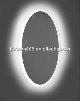 Led di alta qualit ovale specchio del bagno con la luce buy ovale specchio del bagno con la - Specchio bagno ovale ...