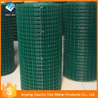 PVC coated/galvanized/stainless steel 2x2 welded wire mesh