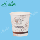 Single Wall Paper Cups Tea with Handle 7oz Paper Tea Cups with Handle