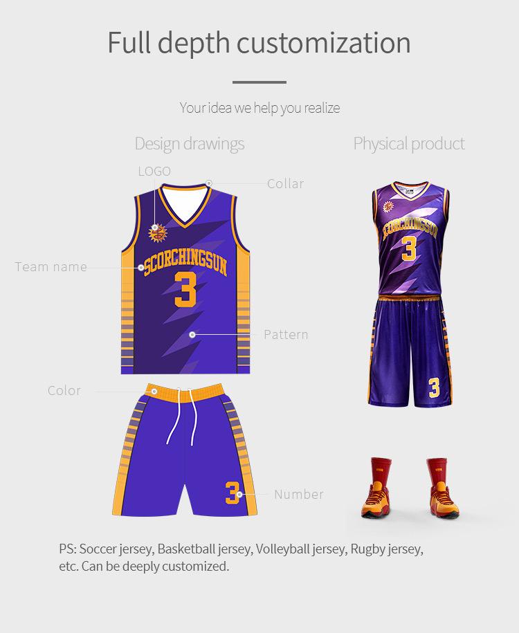 fb5cd6de7d3 China Manufacturer New Model Sublimation Basketball Jersey Custom  Camouflage blue Basketball Uniform