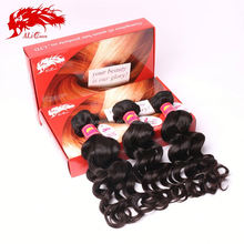 wholesale price extensions unprocessed grade 5a virgin brazilian loose wave hair