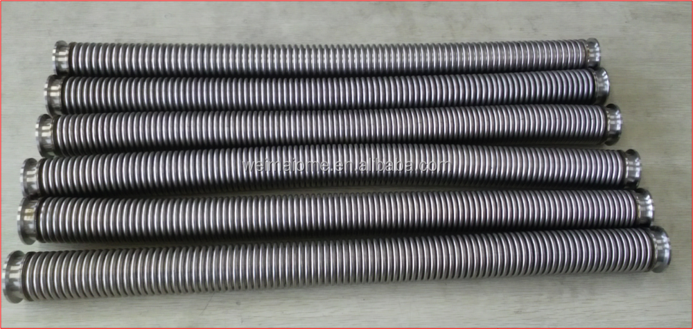 WEIMAI industrial smooth bore ss braid metal hose 2016 NEWS