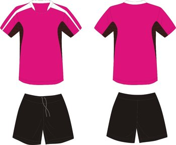 Best selling high quality customized sublimation team pink soccer jersey for lady