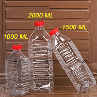 1500 ML Big Plastic Mineral Water Bottle