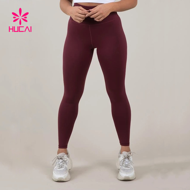 Wholesale Workout Clothing Full Length Dry Fit Women Gym Leggings