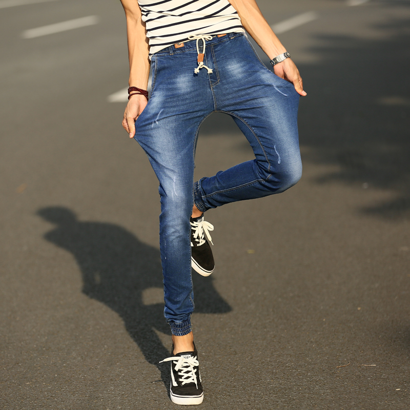 2016 Jeans men 2017 men jeans elastic skinny mens jeans ...