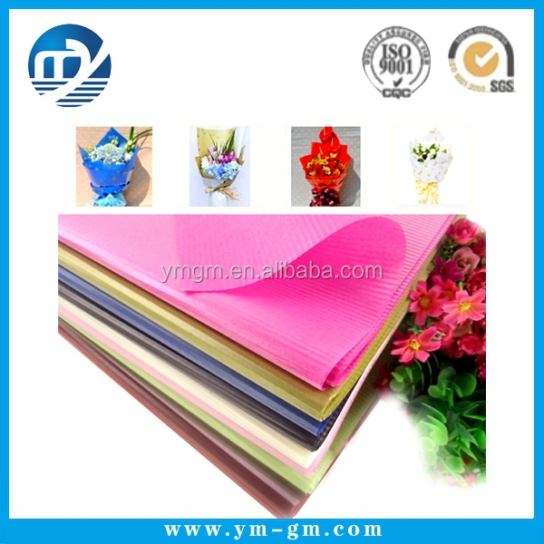 Manufacture supply wholesale newspaper wrapping paper florist wrapping paper
