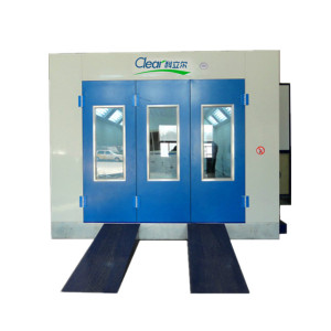 water based paint booth