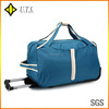 600D polyester travel trolley luggage bag