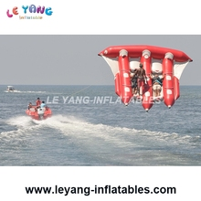Inflatable Flying Fish Tube Towable Inflatable Water Games Banana Boat Inflatable Fly Fish Water Toys