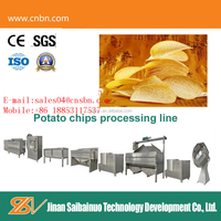 Hot selling CE Standard Semi-Automatic Potato Chips Processing Equipment