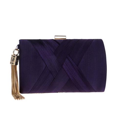 SEKUSA модная женская сумка с кисточками, металлический маленький дневной клатч, сумочка, сумки на цепочке через плечо, женские вечерние сумки,...(Китай)