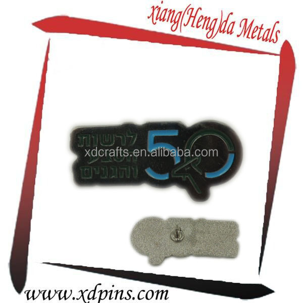 wholesale soft enamel number and letter lapel pins