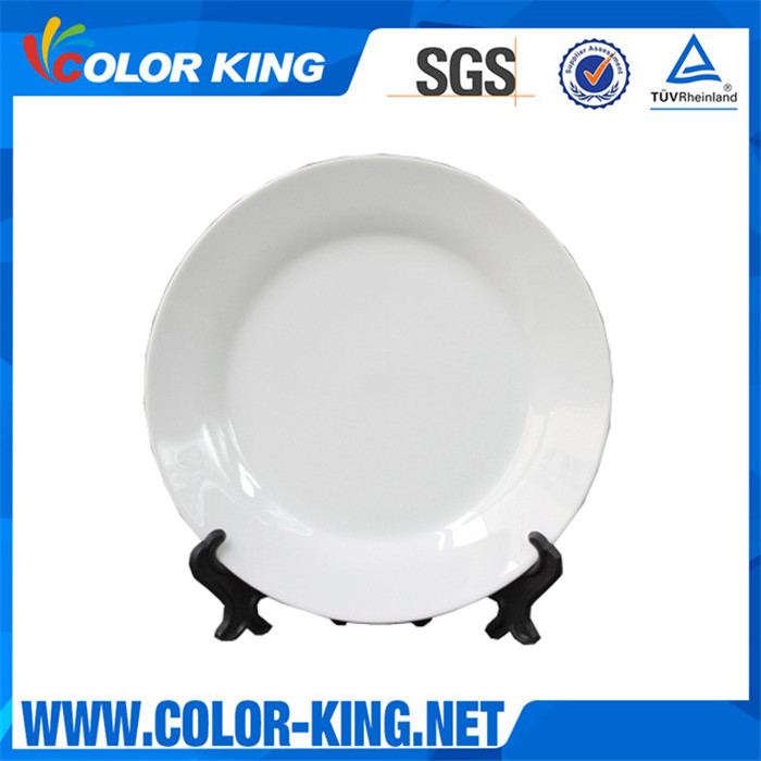 Hot Sale White Sublimation Ceramic Plate