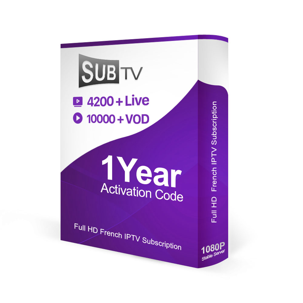 South America Latino IPTV Account Subscription SUBTV Codes 1 Year With  Brasil Channels For Linux System TV Box
