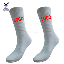 Mens white sport bowling player socks