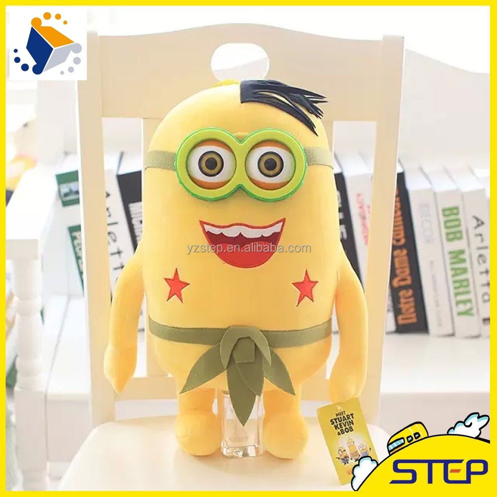 2016 Hot Sale Hawaii Style Custom Minion Plush Toy ST1603158