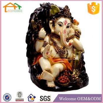 Factory Custom Made Best Home Decoration Gift Polyresin Ganesha Wedding Favor