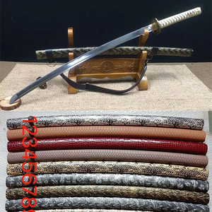 hand made katana samurai swords with leather belt SS007