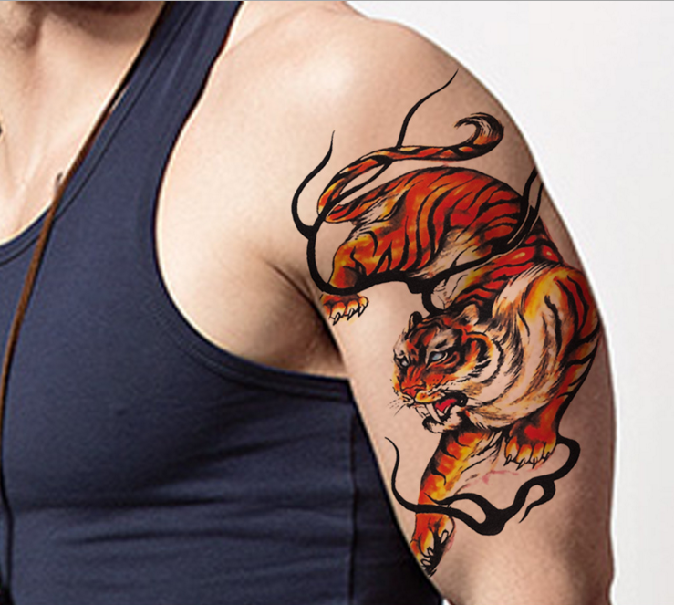 Factory Directly Men Dragon Tribal Tattoo Designs Supply Buy