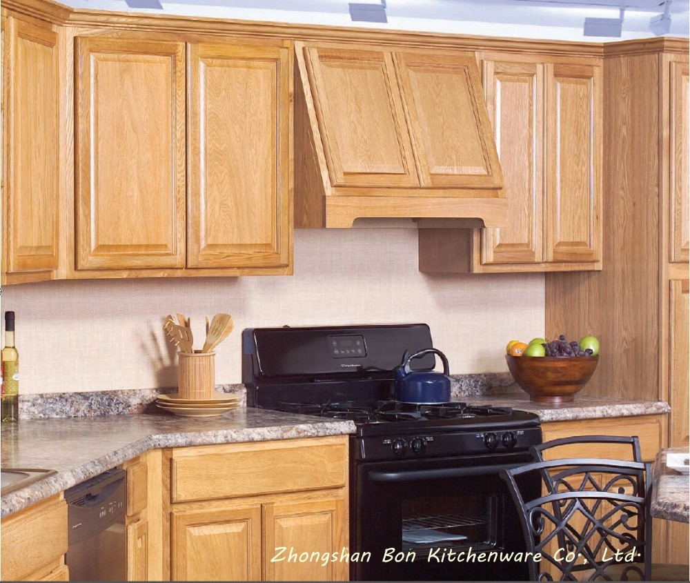 Buying Unfinished Kitchen Cabinets: Popular Birch Solid Wood Kitchen Cabinet
