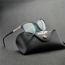 Брендовые дизайнерские блестящие очки, оправа для женщин, винтажные женские кошачьи очки, оправа для очков, прозрачные линзы, очки для чтени...(Китай)