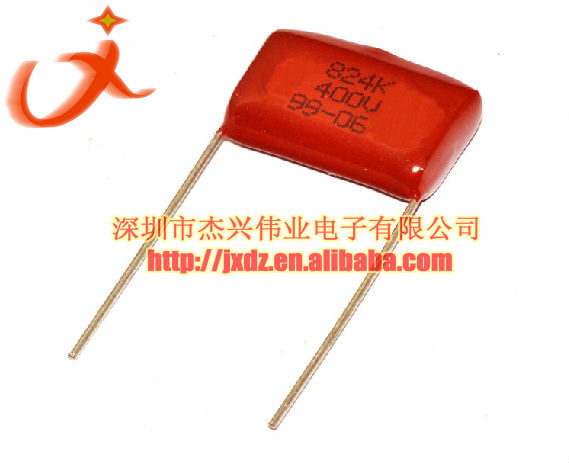 Polyestor Film capacitor CBB 400V 824 820NF 0.82UF 20mm pitch