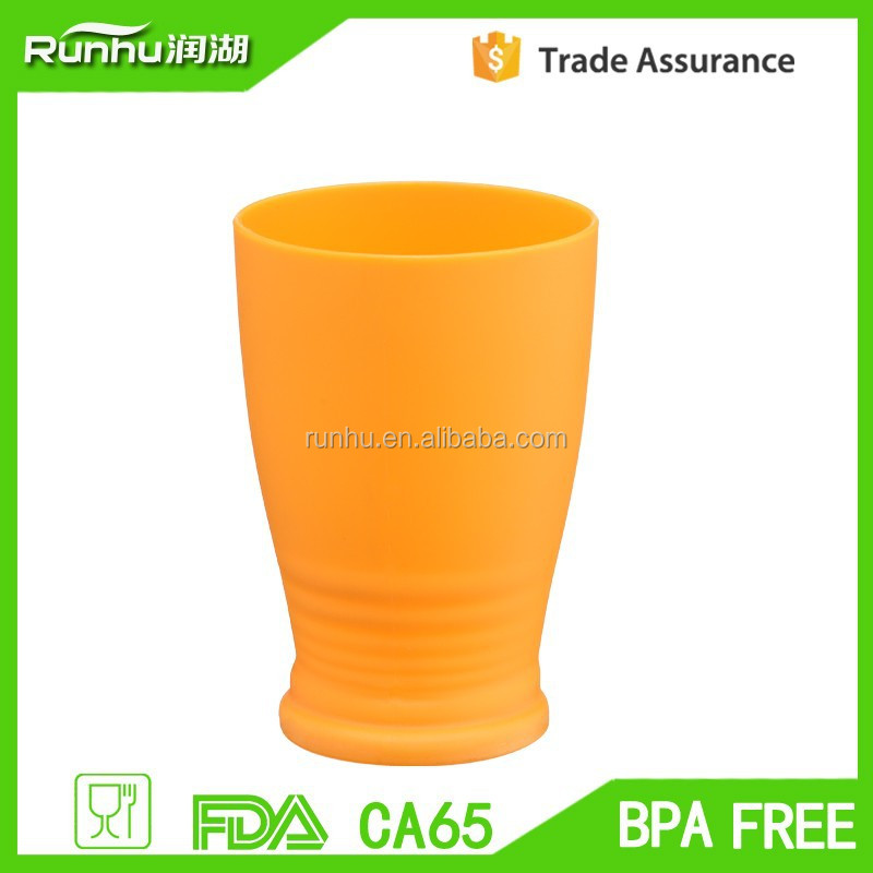 FDA Free Mini Tumbler Single Wall PP Pig Snout Cups RH139-10