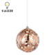 TC fabric Orb shape Pendant Lighting Chandelier hotel project ceiling lamp
