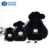 Fashion black Velvet Small Gourd Bag earring Jewelry Packaging Pouch